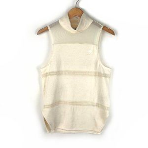 Adidas   French Terry & Mesh Banded Tank Top